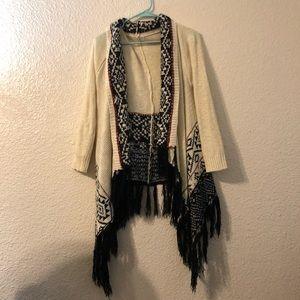 Aztec Sweater Duster